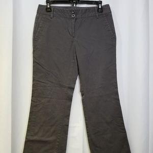 Ann Taylor Loft Original Trouser 2P Gray